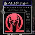 Spartan Omega Helmet Decal Sticker Pink Vinyl Emblem 120x120