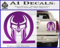 Spartan Omega Helmet Decal Sticker Purple Vinyl 120x97