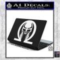 Spartan Omega Helmet Decal Sticker White Vinyl Laptop 120x120