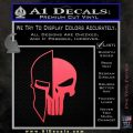 Spartan Punish Helmet Decal Sticker DM Pink Vinyl Emblem 120x120