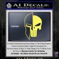 Spartan Punish Helmet Decal Sticker DM Yelllow Vinyl 120x120