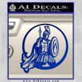 Spartan Warrior CR5 Decal Sticker Blue Vinyl 120x120