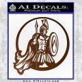 Spartan Warrior CR5 Decal Sticker Brown Vinyl 120x120
