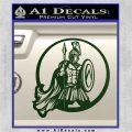 Spartan Warrior CR5 Decal Sticker Dark Green Vinyl 120x120