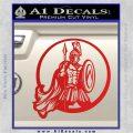 Spartan Warrior CR5 Decal Sticker Red Vinyl 120x120