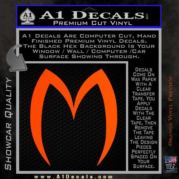 Speed Racer M Decal Sticker D2 Mach 5 187 A1 Decals