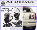 Spock Decal Sticker LLAP Decal Sticker Carbon Fiber Black 120x97