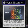Spock Decal Sticker LLAP Decal Sticker Sparkle Glitter Vinyl 120x120