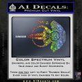 Spocks Jellyfish Spaceship Decals Sticker Star Trek2 Sparkle Glitter Vinyl 120x120