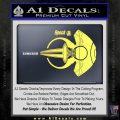 Spocks Jellyfish Spaceship Decals Sticker Star Trek2 Yelllow Vinyl 120x120