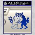 Spy vs Spy Vinyl Decal Sticker Blue Vinyl 120x120