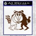 Spy vs Spy Vinyl Decal Sticker Brown Vinyl 120x120
