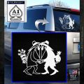 Spy vs Spy Vinyl Decal Sticker White Emblem 120x120
