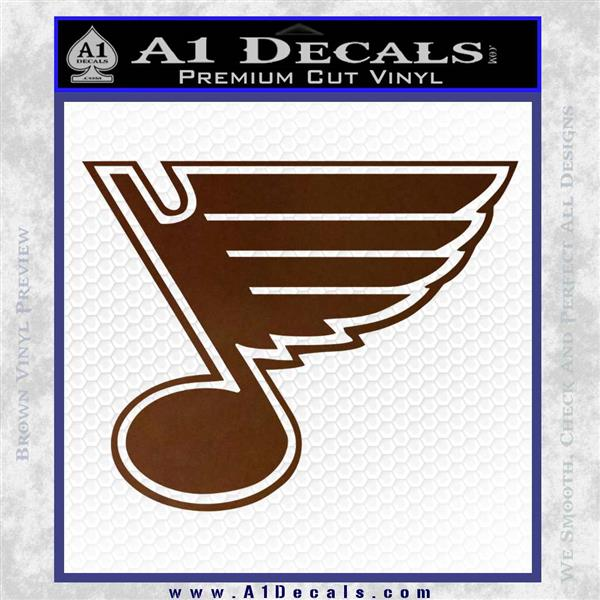 Shipping A Car >> St Louis Blues Decal Sticker » A1 Decals