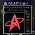 Star Trek Command Orbit Decal Sticker Pink Vinyl Emblem 120x120