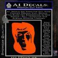 Star Trek Spock DS6 Decal Sticker Orange Vinyl Emblem 120x120