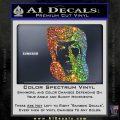 Star Trek Spock DS6 Decal Sticker Sparkle Glitter Vinyl 120x120