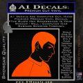 Star Trek Young Spock Decal Sticker Orange Vinyl Emblem 120x120
