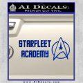 Starfleet Academy Decal Sticker Blue Vinyl 120x120