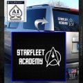 Starfleet Academy Decal Sticker White Emblem 120x120