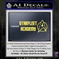 Starfleet Academy Decal Sticker Yelllow Vinyl 120x120