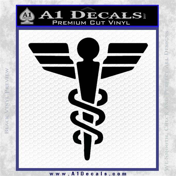 Starfleet Medical Caduceus Symbol Decal Sticker 187 A1 Decals
