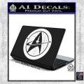 Starfleet Star Trek Emblem Decal Sticker White Vinyl Laptop 120x120