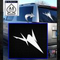 Starfox Silhouette SXC Decal Sticker White Emblem 120x120