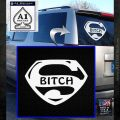 Superbitch Decal Sticker DN White Emblem 120x120