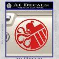 Superhero Mashup Hydra Shield Decal Sticker Red Vinyl 120x120