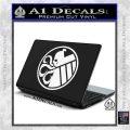 Superhero Mashup Hydra Shield Decal Sticker White Vinyl Laptop 120x120