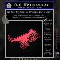 T Rex Your Jesus Fish Was Delicious Dinosaur Vinyl Decal Sticker Pink Vinyl Emblem 120x120