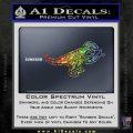 T Rex Your Jesus Fish Was Delicious Dinosaur Vinyl Decal Sticker Sparkle Glitter Vinyl 120x120