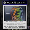 T3 Tikka Logo Gun Vinyl Decal Sticker Sparkle Glitter Vinyl 120x120
