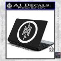 THE HOBBIT SYMBOL LORD OF THE RINGS VINYL DECAL STICKER White Vinyl Laptop 120x120