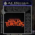 TMNT New Movie Logo Decal Sticker Orange Vinyl Emblem 120x120