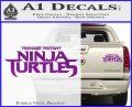TMNT New Movie Logo Decal Sticker Purple Vinyl 120x97