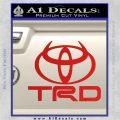 TRD Toyota Devil Horns DLB Decal Sticker Red Vinyl 120x120