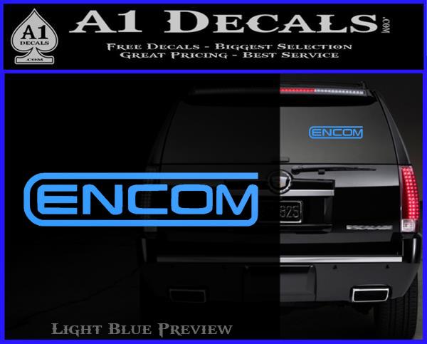 Tron Encom Logo Legacy Decal Sticker D2 187 A1 Decals