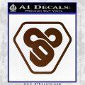 TRON Flynn Lives 89 Symbol Legacy Decal Sticker Brown Vinyl 120x120