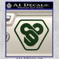 TRON Flynn Lives 89 Symbol Legacy Decal Sticker Dark Green Vinyl 120x120