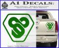 TRON Flynn Lives 89 Symbol Legacy Decal Sticker Green Vinyl 120x97