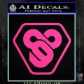 TRON Flynn Lives 89 Symbol Legacy Decal Sticker Hot Pink Vinyl 120x120