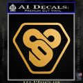 TRON Flynn Lives 89 Symbol Legacy Decal Sticker Metallic Gold Vinyl Vinyl 120x120