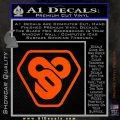 TRON Flynn Lives 89 Symbol Legacy Decal Sticker Orange Vinyl Emblem 120x120