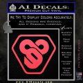 TRON Flynn Lives 89 Symbol Legacy Decal Sticker Pink Vinyl Emblem 120x120