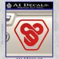 TRON Flynn Lives 89 Symbol Legacy Decal Sticker Red Vinyl 120x120