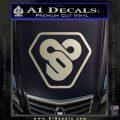TRON Flynn Lives 89 Symbol Legacy Decal Sticker Silver Vinyl 120x120
