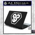 TRON Flynn Lives 89 Symbol Legacy Decal Sticker White Vinyl Laptop 120x120