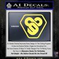 TRON Flynn Lives 89 Symbol Legacy Decal Sticker Yelllow Vinyl 120x120